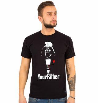 "Obrázek 1 produktu Pánské tričko ""Yourfather"" Star Wars Godfather"