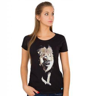 Obrázek 1 produktu Dámské tričko Lev Král Džungle