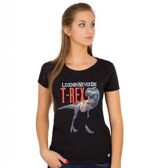 Obrázek 1 produktu Dámské tričko T-Rex Legends Never Die