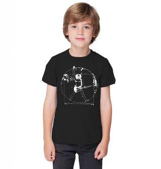 Obrázek 1 produktu Dětské tričko Vitruviánský kytarista