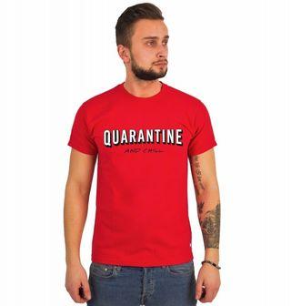 Obrázek 1 produktu Pánské tričko Quarantine and Chill