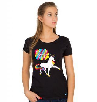 Obrázek 1 produktu Dámské tričko Hrdý jednorožec