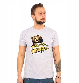 """Obrázek 1 produktu Pánské tričko Méďa Ted """"hromoví kámoši"""""""
