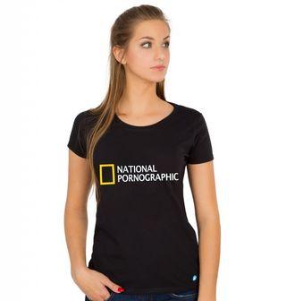 Obrázek 1 produktu Dámské tričko National Pornographic
