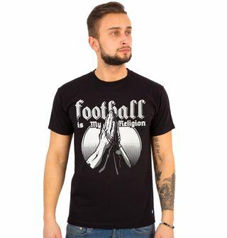 """Obrázek 1 produktu Pánské tričko Fotbal je moje víra """"Football is My Religion"""""""
