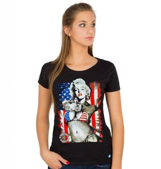 "Obrázek 1 produktu Dámské tričko Marylin Monroe ""Pravá Amerika"""