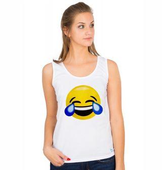 Obrázek 1 produktu Dámské tílko Emoji Smích