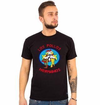 """Obrázek 1 produktu Pánské tričko Breaking Bad """"Los Pollos Hermanos"""""""
