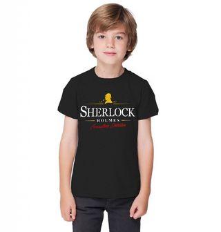 Obrázek 1 produktu Dětské tričko Detektiv Sherlock Holmes