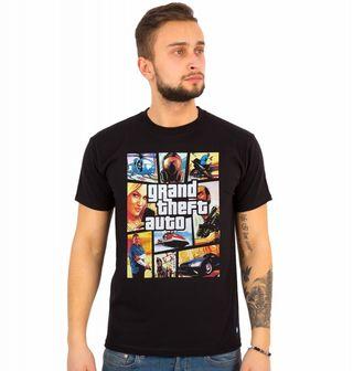 Obrázek 1 produktu Pánské tričko Grand Theft Auto