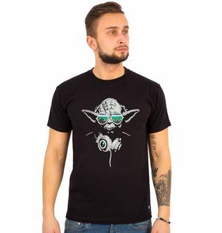 Obrázek 1 produktu Pánské tričko  Mistr Dj Yoda Star Wars