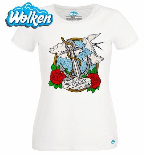 Obrázek produktu Dámské tričko Sailor! Kotva