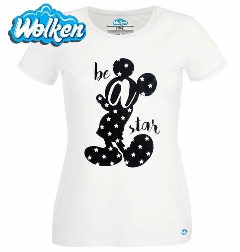 Obrázek produktu Dámské tričko Mickey Mouse Be a Star