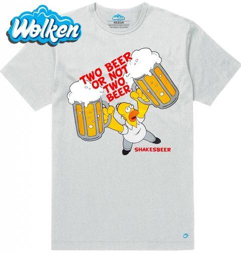 """Obrázek produktu Pánské tričko Simpsonovi """"Dvě piva či žádný piva"""" The Simpsons"""