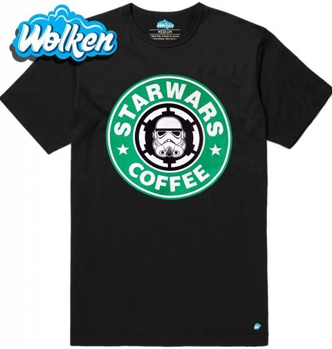 Obrázek produktu Pánské tričko Star Wars Starbucks Coffe