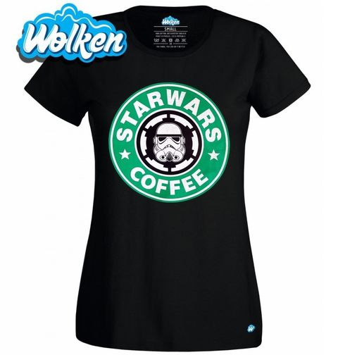 Obrázek produktu Dámské tričko Star Wars Starbucks Coffe