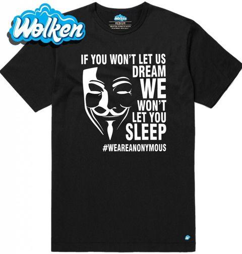 Obrázek produktu Pánské tričko Anonymous WEAREANONYMOUS