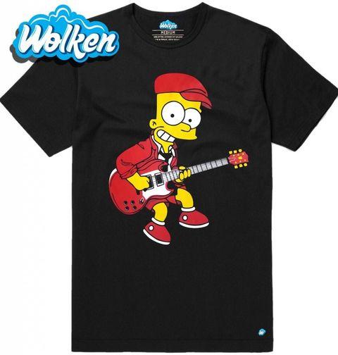 Obrázek produktu Pánské tričko Bart Young Electric Guitar Bart Simpson