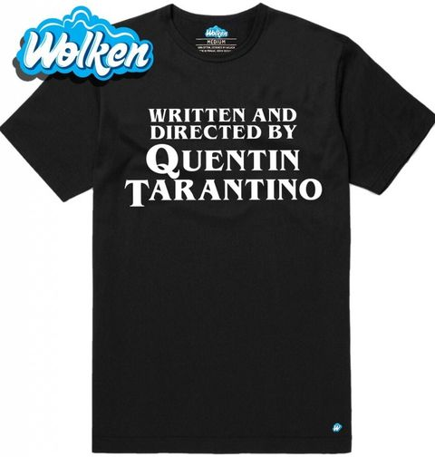 Obrázek produktu Pánské tričko Written and Directed by Quentin Tarantino