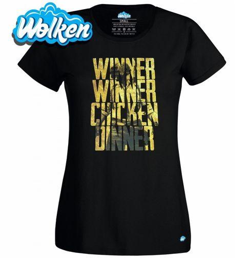 Obrázek produktu Dámské tričko PUBG Winner Winner Chicken Dinner
