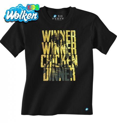Obrázek produktu Dětské tričko PUBG Winner Winner Chicken Dinner