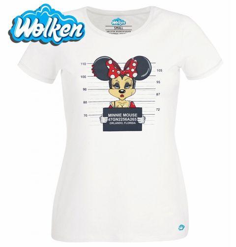 Obrázek produktu Dámské tričko Gangsta Minnie Mouse Busted