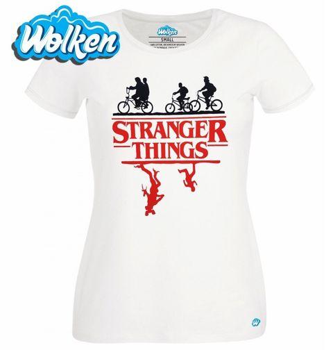 Obrázek produktu Dámské tričko Stranger Things The Demogorgon