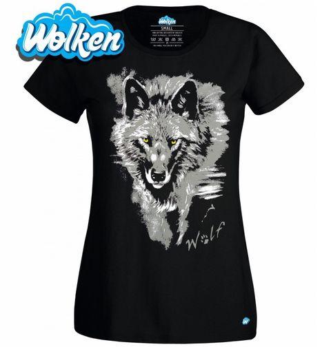 Obrázek produktu Dámské tričko Osamělý vlk