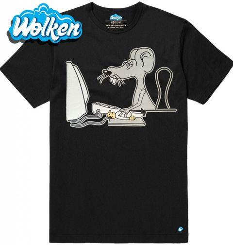 Obrázek produktu Pánské tričko Prohozená realita Počítačová Myš