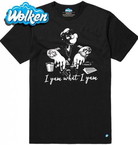 Obrázek produktu Pánské tričko Pepek Námořník I Yam What I Yam