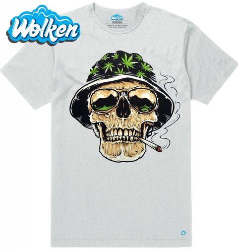Obrázek produktu Pánské tričko Lebka High Style