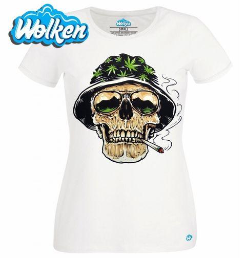 Obrázek produktu Dámské tričko Lebka High Style