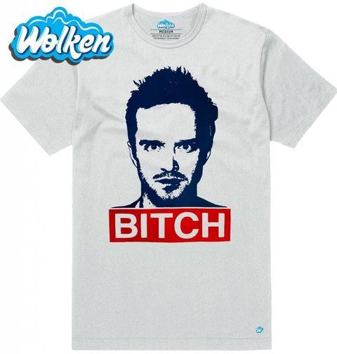 """Obrázek produktu Pánské tričko Breaking Bad """"Bitch"""" Jesse Pinkman"""