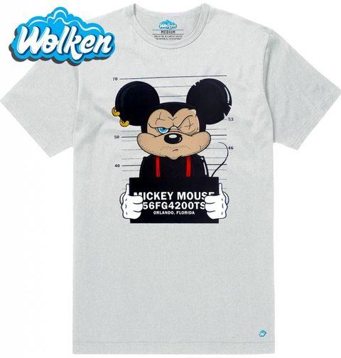Obrázek produktu Pánské tričko Gangsta Mickey Mouse Busted