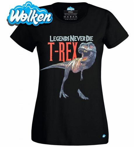 Obrázek produktu Dámské tričko T-Rex Legends Never Die