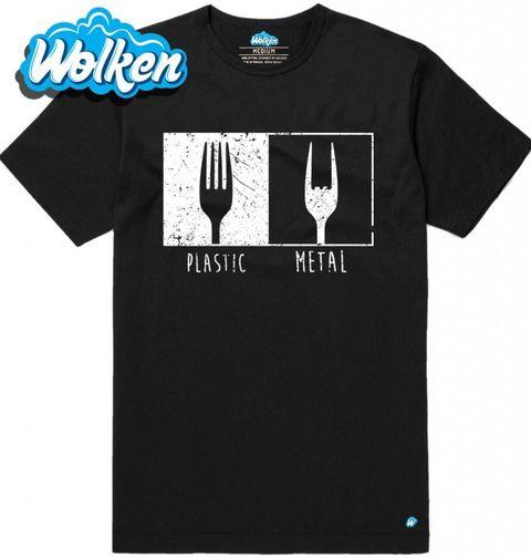 Obrázek produktu Pánské tričko Plastic Metal Vidlička