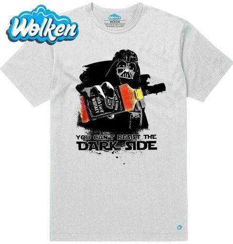 """Obrázek produktu Pánské tričko Star Wars """"Temné síle neodoláš"""""""