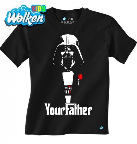 """Obrázek produktu Dětské tričko """"Yourfather"""" Star Wars Godfather"""