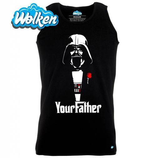 """Obrázek produktu Pánské tílko """"Yourfather"""" Star Wars Godfather"""