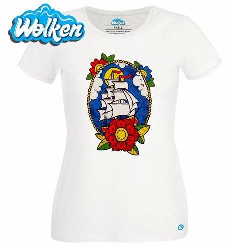 Obrázek produktu Dámské tričko Sailor! Loď