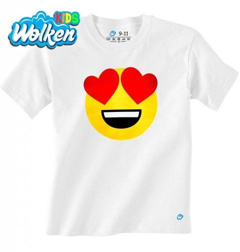 Obrázek produktu Dětské tričko Emoji Love