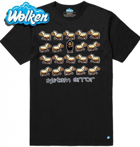 """Obrázek produktu Pánské tričko Chyba v Systému """"System Error"""""""