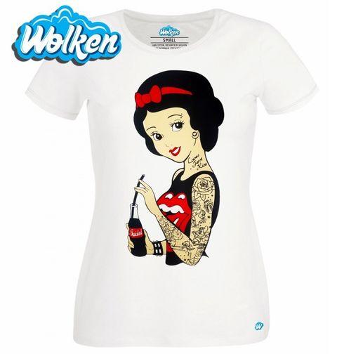 Obrázek produktu Dámské tričko Vintage Retro Sněhurka