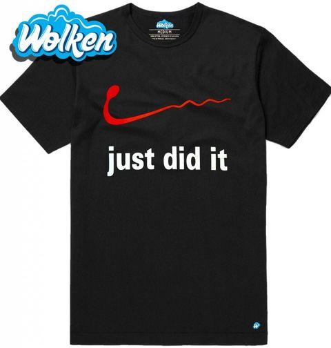 """Obrázek produktu Pánské tričko Just did it """"Já už to zvládnul!"""""""