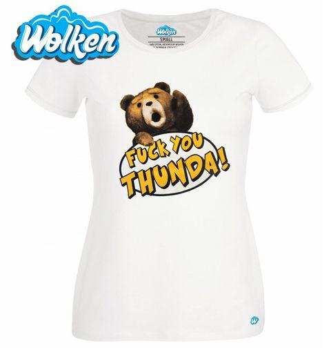"""Obrázek produktu Dámské tričko Méďa Ted """"hromoví kámoši"""""""