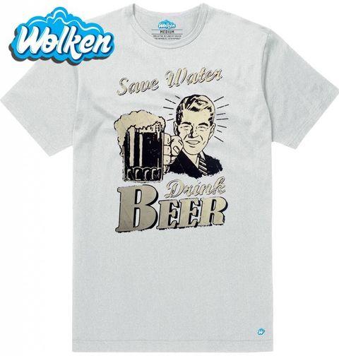 Obrázek produktu Pánské tričko Šetři s vodou, dej si radši pivo!