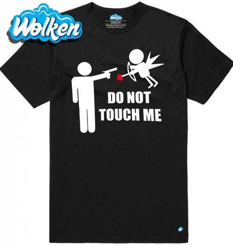 """Obrázek produktu Pánské tričko """"Nedotýkej se mě"""""""