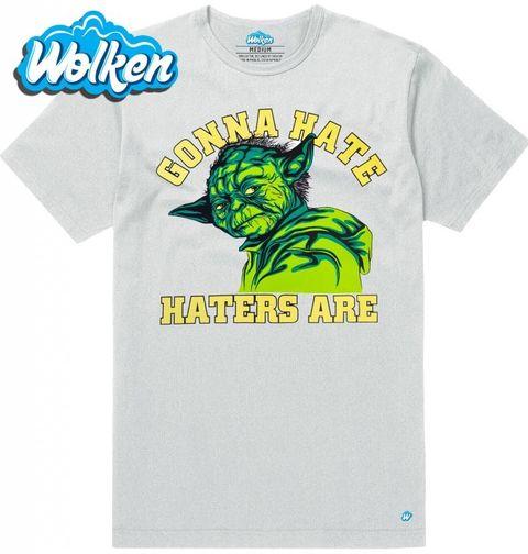 """Obrázek produktu Pánské tričko Mistr Yoda """"Hejtit budou hejtři!"""""""