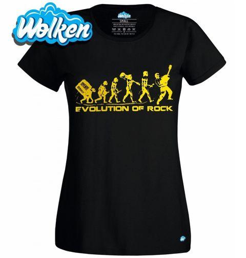 Obrázek produktu Dámské tričko Evoluce Rock 'n' Rollu