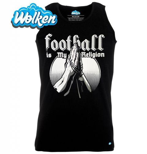 """Obrázek produktu Pánské tílko Fotbal je moje víra """"Football is My Religion"""""""